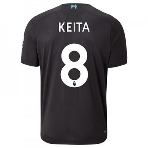 Liverpool Third Shirt 2019-20 with Keita  8 printing