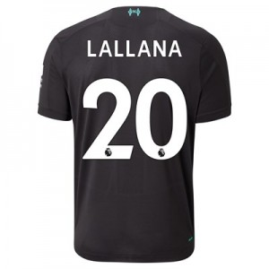 Liverpool Third Shirt 2019-20 with Lallana 20 printing