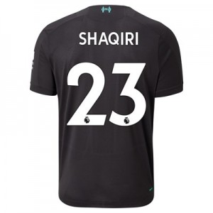 Liverpool Third Shirt 2019-20 with Shaqiri 23 printing