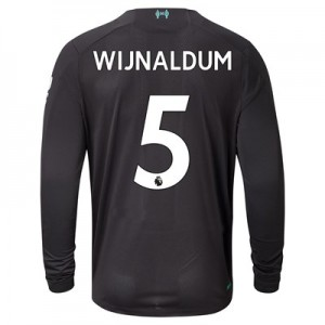 Liverpool Third Shirt 2019-20 – Long Sleeve with Wijnaldum 5 printing