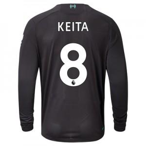 Liverpool Third Shirt 2019-20 - Long Sleeve with Keita  8 printing