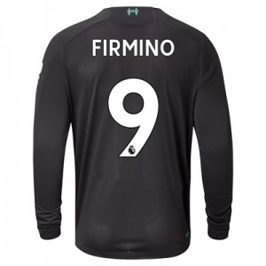 Liverpool Third Shirt 2019-20 - Long Sleeve with Firmino 9 printing