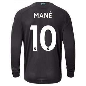 Liverpool Third Shirt 2019-20 - Long Sleeve with Mané 10 printing