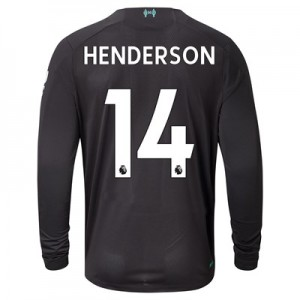 Liverpool Third Shirt 2019-20 – Long Sleeve with Henderson 14 printing