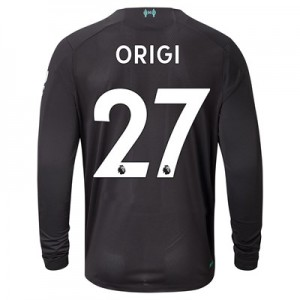 Liverpool Third Shirt 2019-20 - Long Sleeve with Origi 27 printing