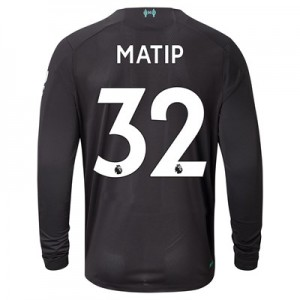 Liverpool Third Shirt 2019-20 - Long Sleeve with Matip 32 printing