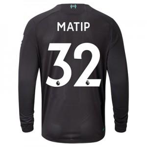 Liverpool Third Shirt 2019-20 - Long Sleeve with Matip 32 printing