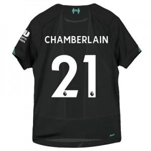 Liverpool Third Shirt 2019-20 – Kids with Chamberlain 15 printing
