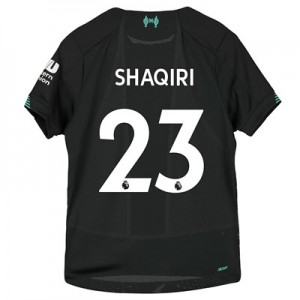 Liverpool Third Shirt 2019-20 – Kids with Shaqiri 23 printing