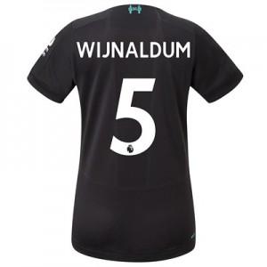 Liverpool Third Shirt 2019-20 – Womens with Wijnaldum 5 printing