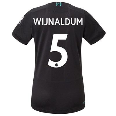 Liverpool Third Shirt 2019-20 - Womens with Wijnaldum 5 printing