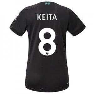 Liverpool Third Shirt 2019-20 - Womens with Keita  8 printing
