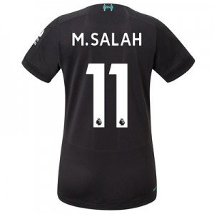 Liverpool Third Shirt 2019-20 - Womens with M.Salah 11 printing