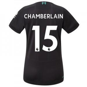 Liverpool Third Shirt 2019-20 - Womens with Chamberlain 15 printing