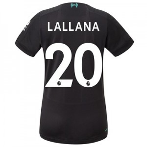 Liverpool Third Shirt 2019-20 - Womens with Lallana 20 printing