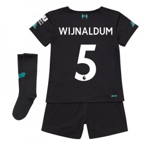Liverpool Third Infant Kit 2019-20 with Wijnaldum 5 printing