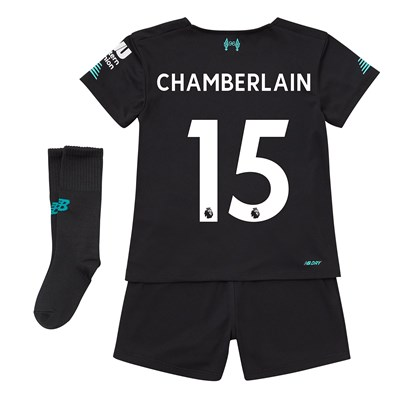 Liverpool Third Infant Kit 2019-20 with Chamberlain 15 printing