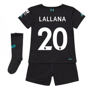 Liverpool Third Infant Kit 2019-20 with Lallana 20 printing