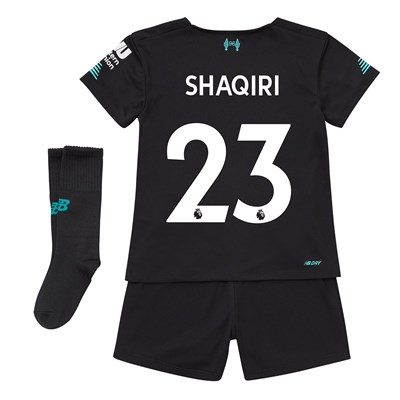 Liverpool Third Infant Kit 2019-20 with Shaqiri 23 printing
