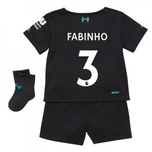 Liverpool Third Baby Kit 2019-20 with Fabinho 3 printing
