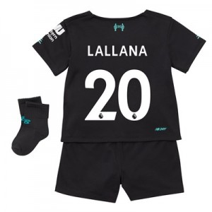 Liverpool Third Baby Kit 2019-20 with Lallana 20 printing