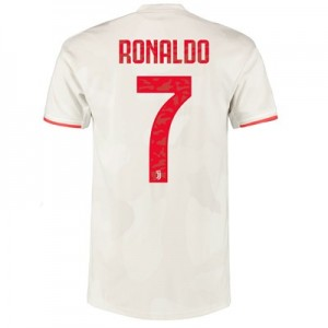 Juventus Authentic Away Shirt 2019-20 with Ronaldo 7 printing