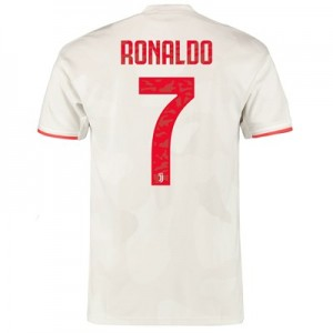 Juventus Away Shirt 2019-20 with Ronaldo 7 printing