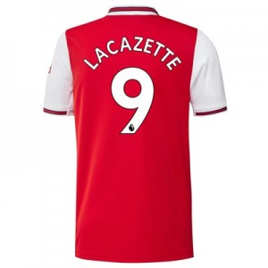 Arsenal Home Shirt 2019-20 with Lacazette 9 printing