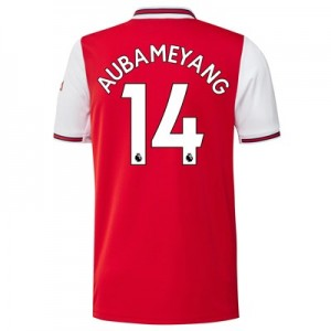 Arsenal Home Shirt 2019-20 with Aubameyang 14 printing