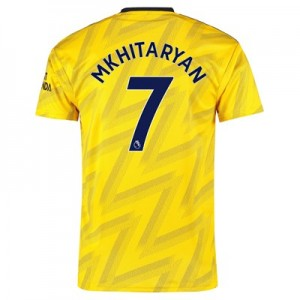 Arsenal Away Shirt 2019-20 with Mkhitaryan 7 printing