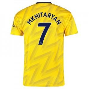 Arsenal Away Shirt 2019-20 with Mkhitaryan 7 printing