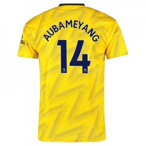 Arsenal Away Shirt 2019-20 with Aubameyang 14 printing