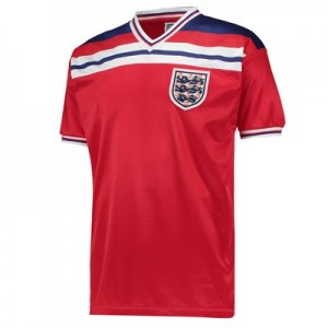 England 1982 World Cup Finals Away Shirt
