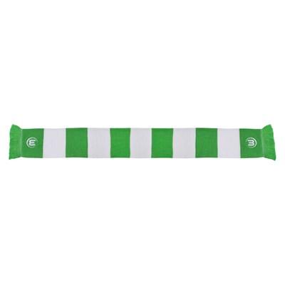 VfL Wolfsburg Bar Scarf - Green/White - Adult