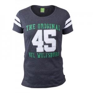 VfL Wolfsburg Sports T-Shirt – Grey – Womens