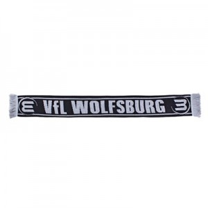 VfL Wolfsburg Reversible Scarf – Black – Adult