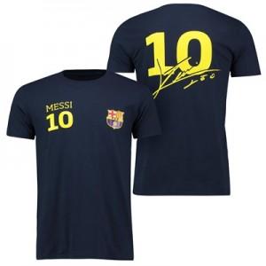 Barcelona 2016 Tour Player T-Shirt Messi 10 – Mens – Navy