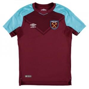West Ham United Home Shirt 2017-18 - Kids