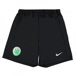 VfL Wolfsburg Training Shorts - Black - Kids