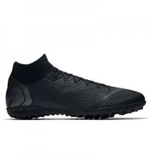 Nike MercurialX Superfly 6 Academy Astroturf Trainers - Black