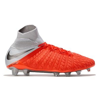 Nike Hypervenom Phantom 3 Elite Dynamic Fit Firm Ground Football Boots - Grey
