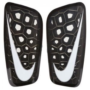 Nike Mercurial Lite Shinguards - Grey/Red