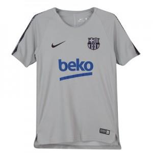Barcelona Squad Training Top - Grey - Kids