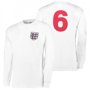 England 1966 World Cup Final Home No6 shirt