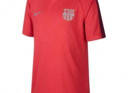 Barcelona Pre Match Top - Pink - Kids