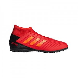 adidas Predator 19.3 Astroturf Trainers – Red – Kids