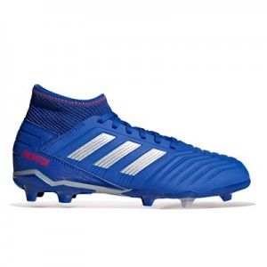 adidas Predator 19.3 Firm Ground Football Boots – Blue – Kids