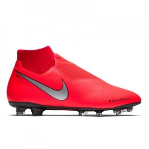 Nike Phantom Vision Pro Dynamic Fit Firm Ground Football Boots - Red