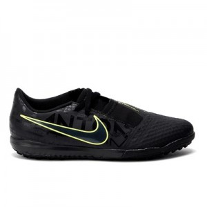 Nike Phantom VNM Academy Astroturf Trainers – Black – Kids