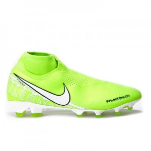 Nike Phantom VSN Elite DF Firm Ground Football Boots – Volt